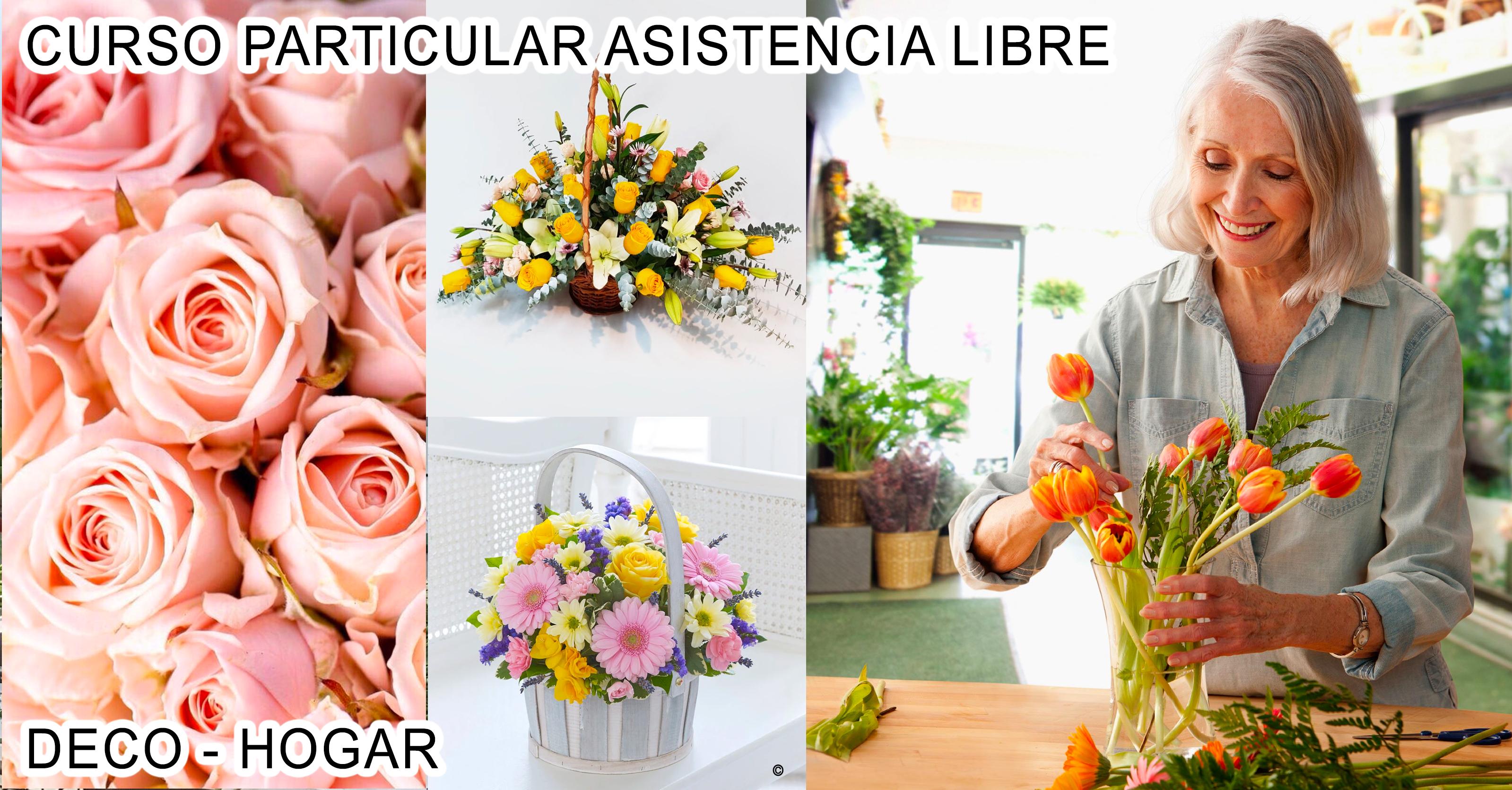Cursos De Arreglos Florales Clases De Floristeria Escuela